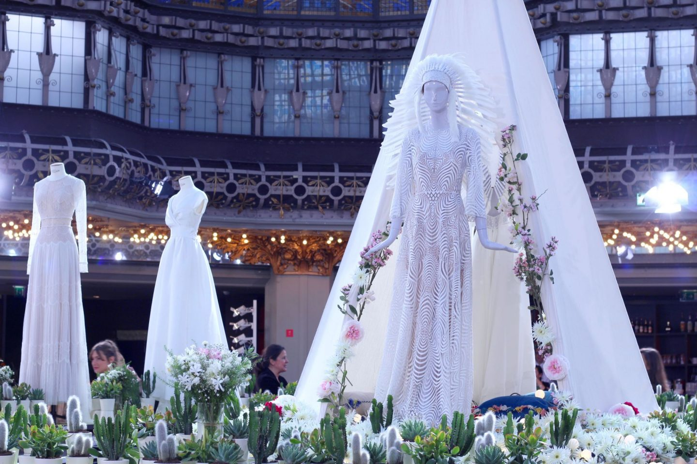 défilé mariage printemps haussmann