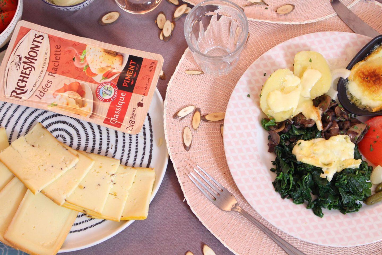 Raclette végétarienne richesmonts