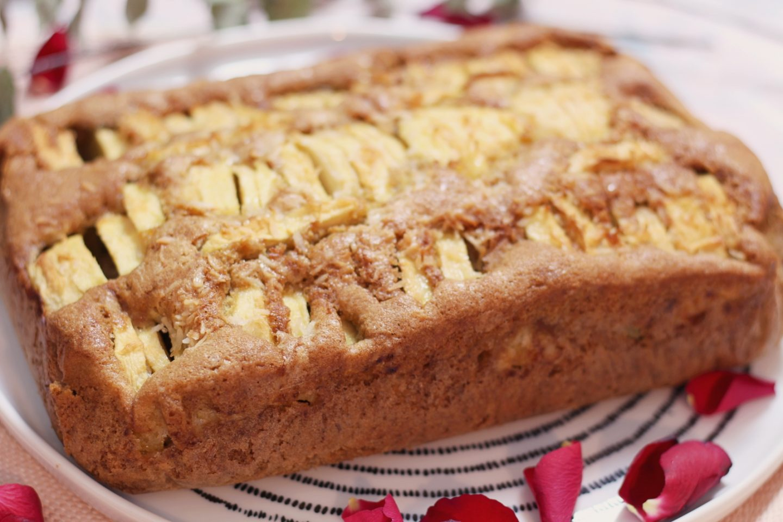 gâteau pommes donna hay