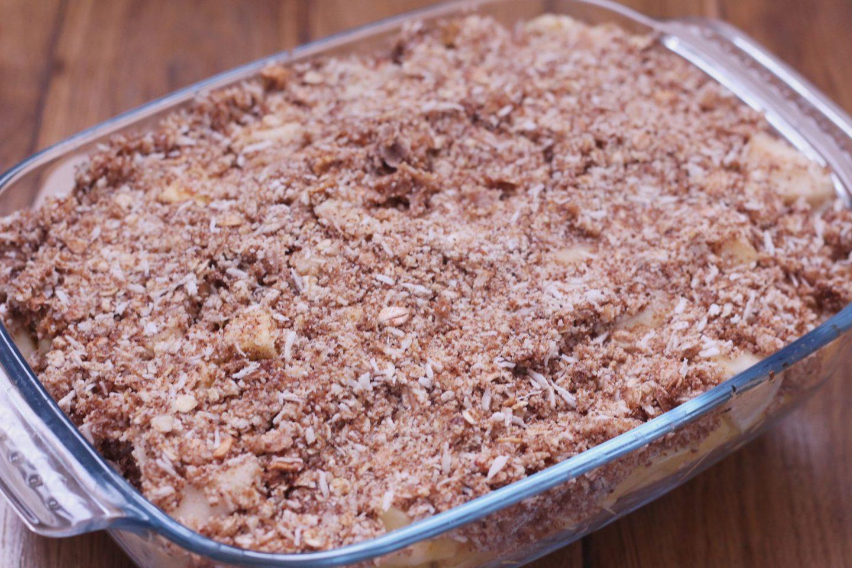 gluten dairy free crumble