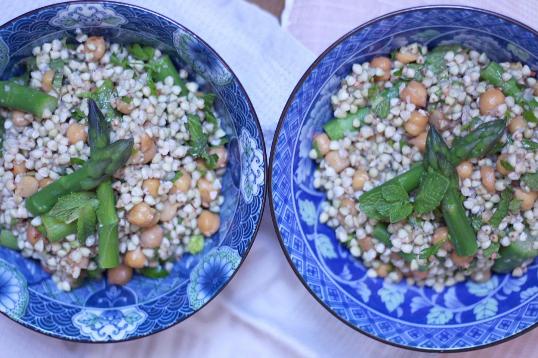 salade croquante de sarrasin