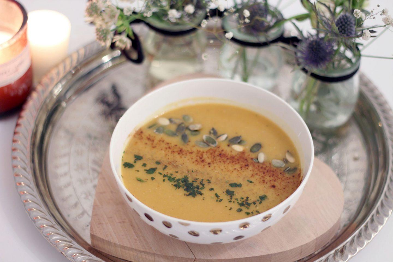velouté butternut curry