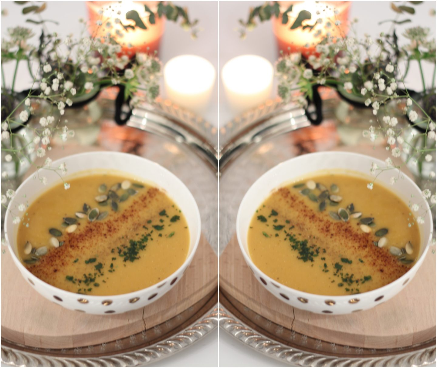 velouté butternut curry