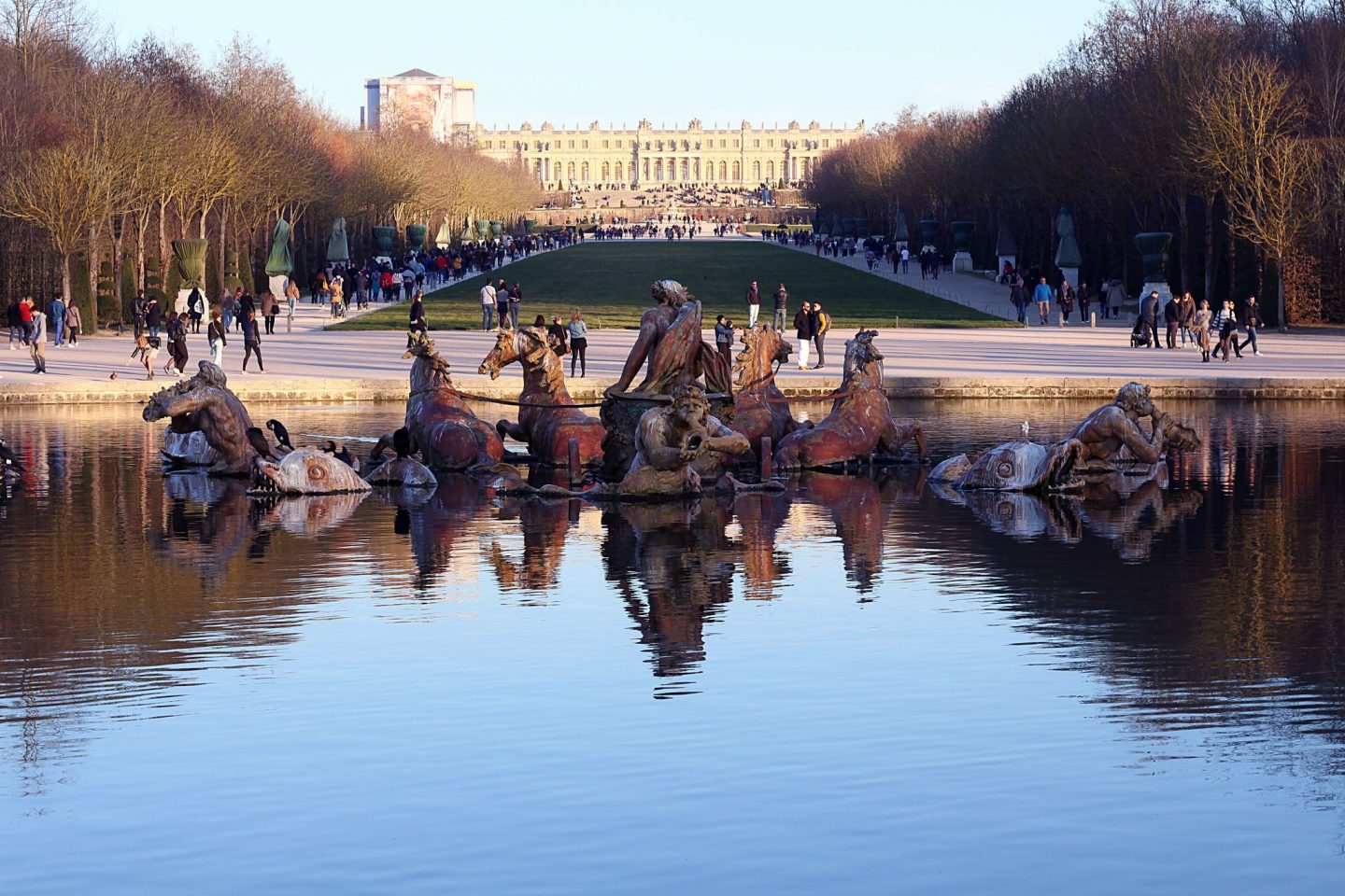 week end à versailles