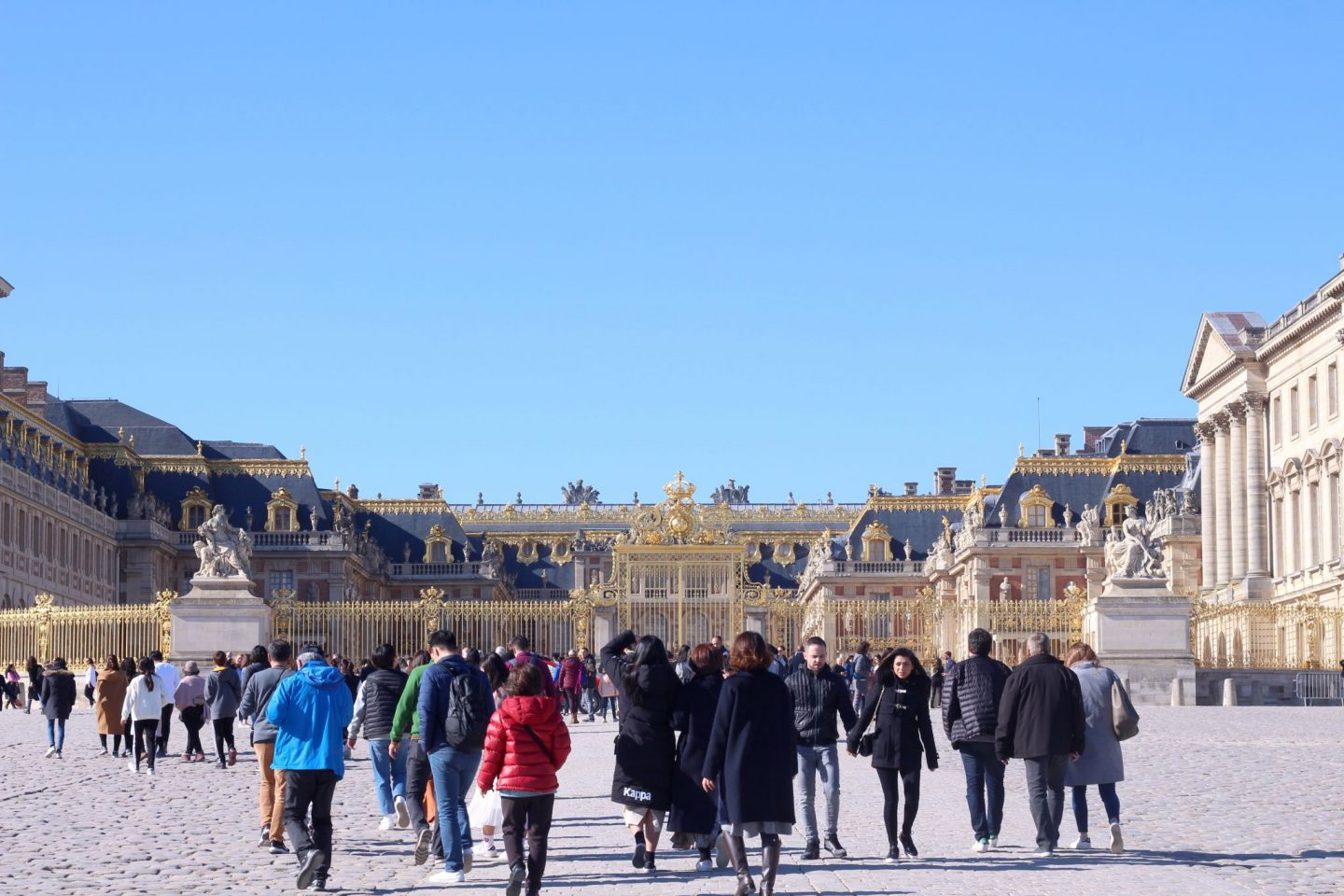 weekend in versailles