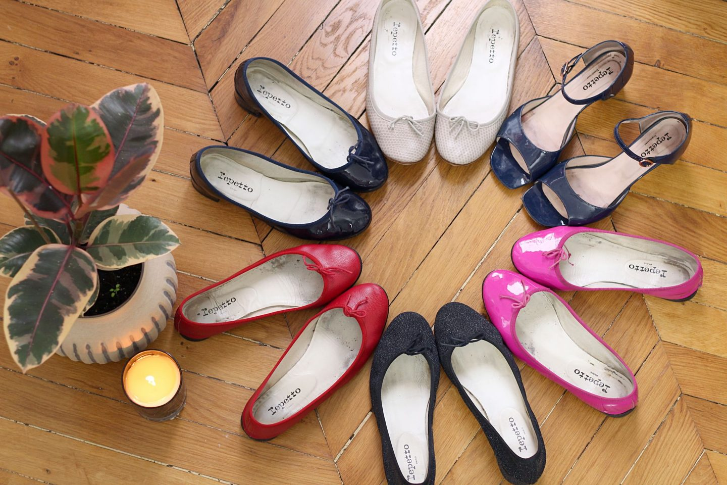 how to wear repetto flats