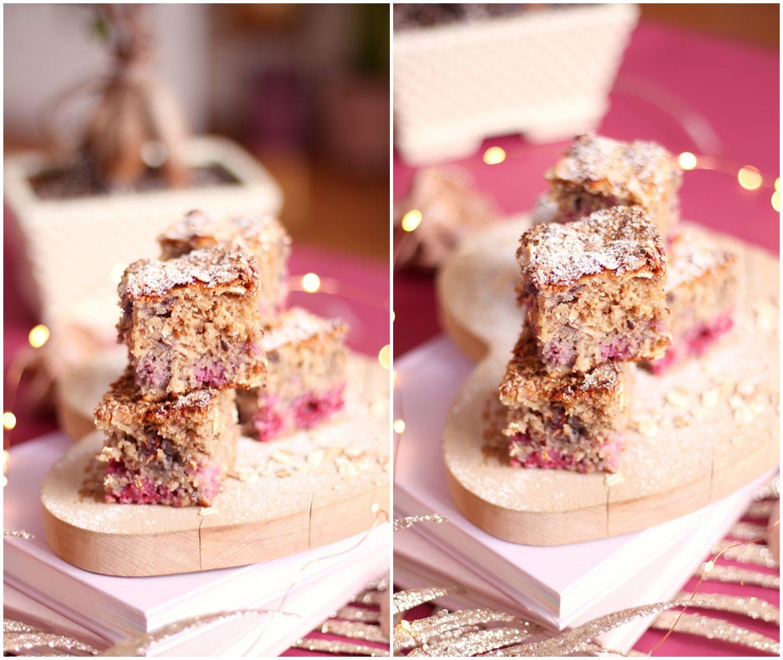 Gâteau framboise coco sans gluten