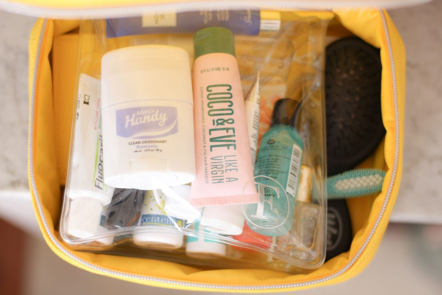 cosmetics to take on holiday