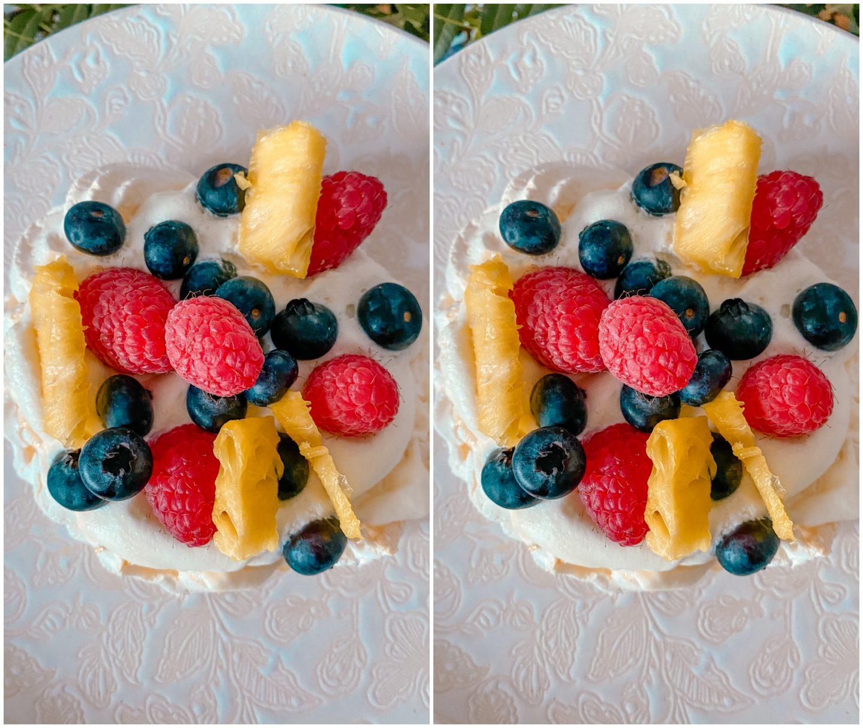 dessert léger anniversaire