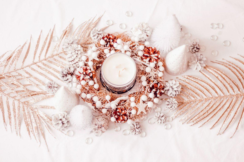Create a Christmas centerpiece
